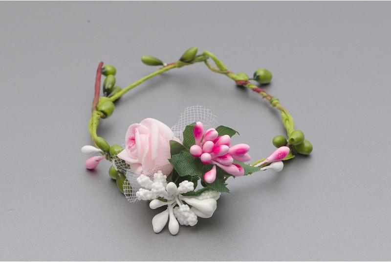 Kvetinový náramok na ruku VR 025