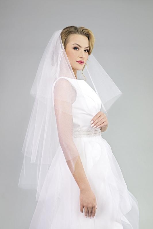 Svatební závoj 152