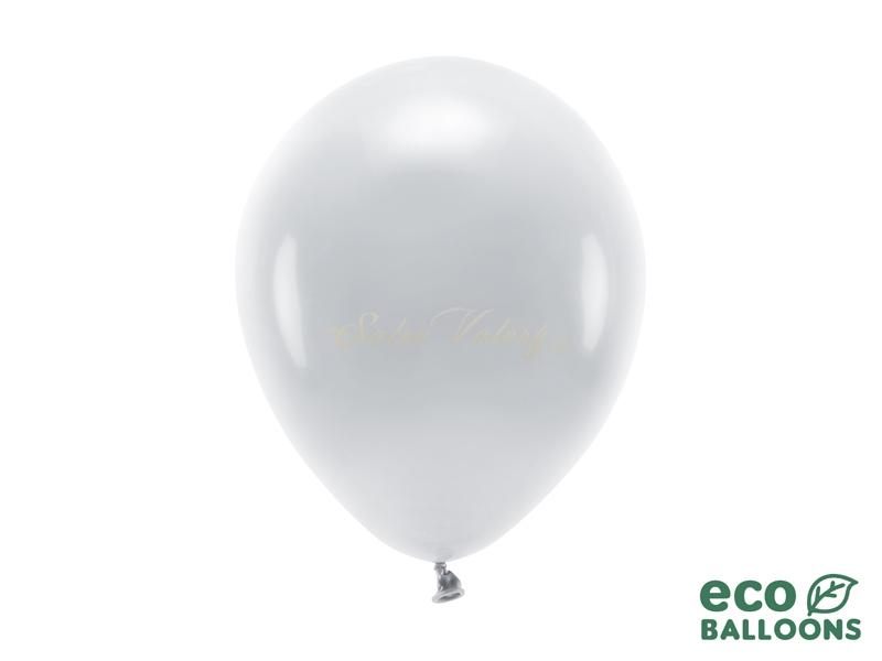 Metalický balónik - strieborný