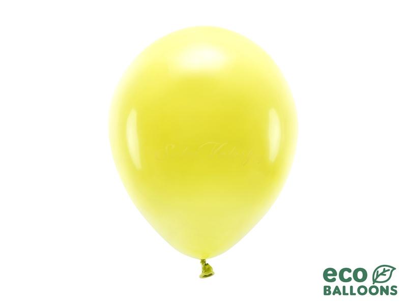 Metalický balónik - žltý