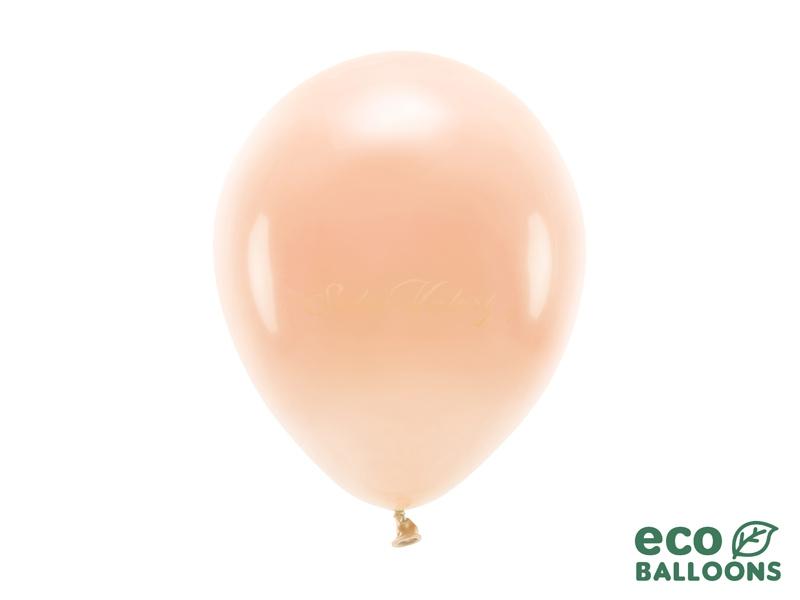 Metalický balónik - lososový