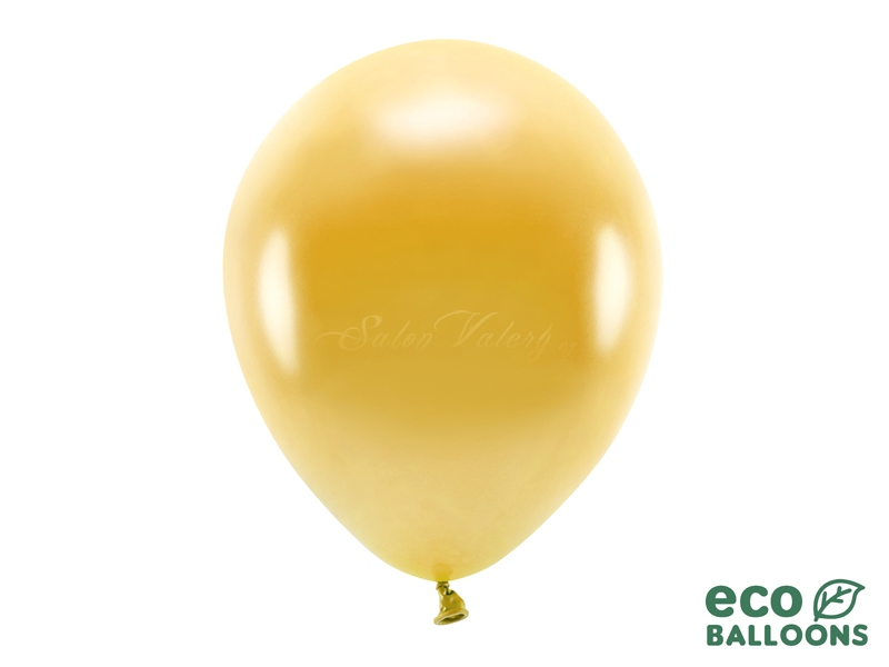 Metalický balónik - zlatý