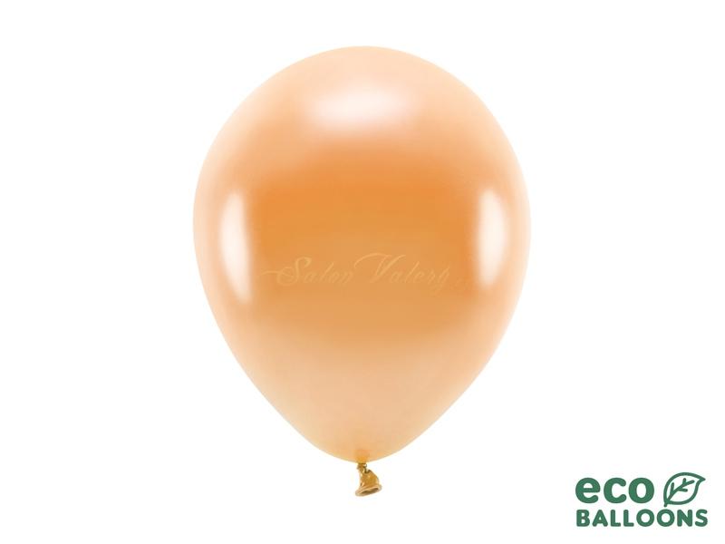 Metalický balónik - oranžový