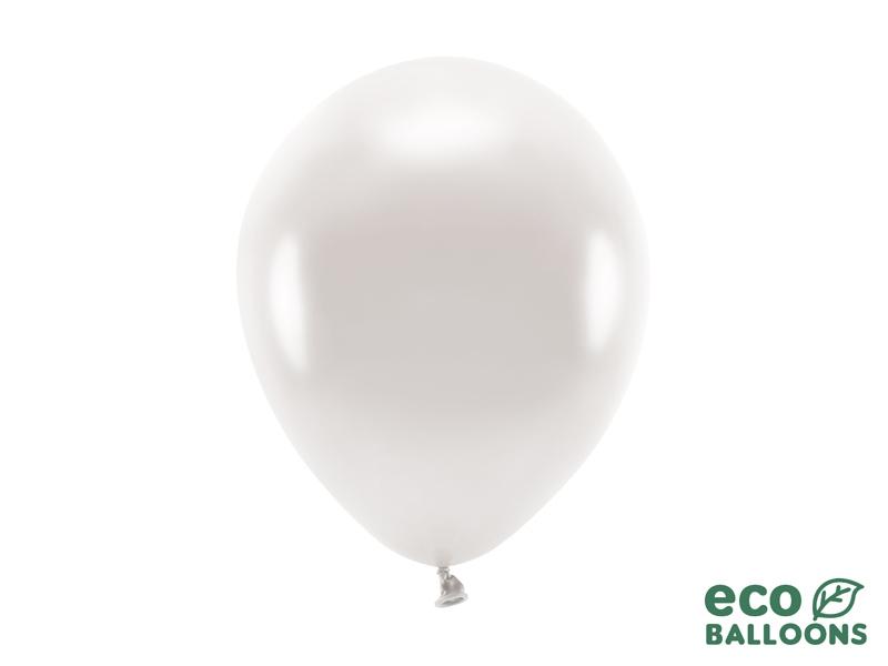 Metalický balónik - biely