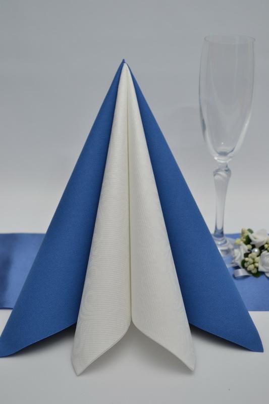 Obrúsok DUNI - kráľovská modrá 5ks