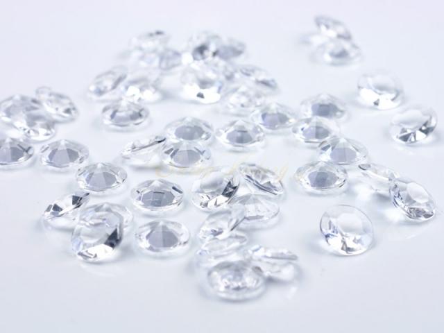 Dekoračné diamanty - číra