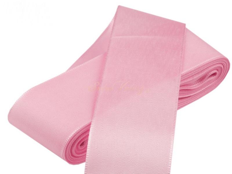 Taftová stuha ružová 40 mm x 10 m