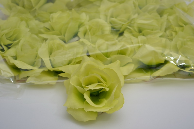 Balenie samolepiacich ruží 24 ks  - zelené