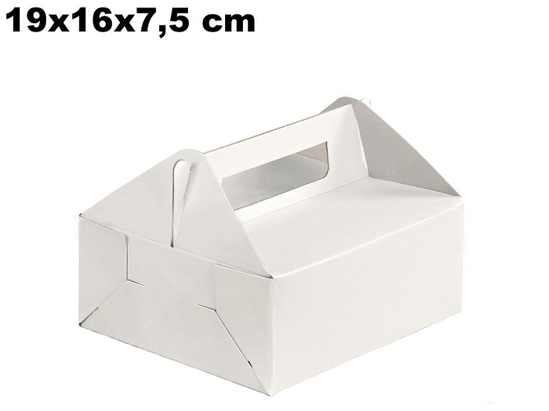 Krabička na výslužky 19 x 16 x 7,5 cm