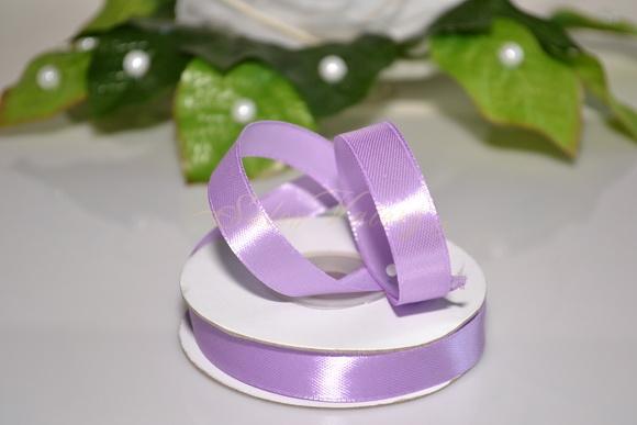 Saténová stuha 12 mm x 25 m - fialová