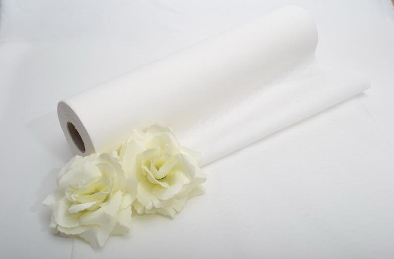 Stolová šerpa PREMIUM - biela