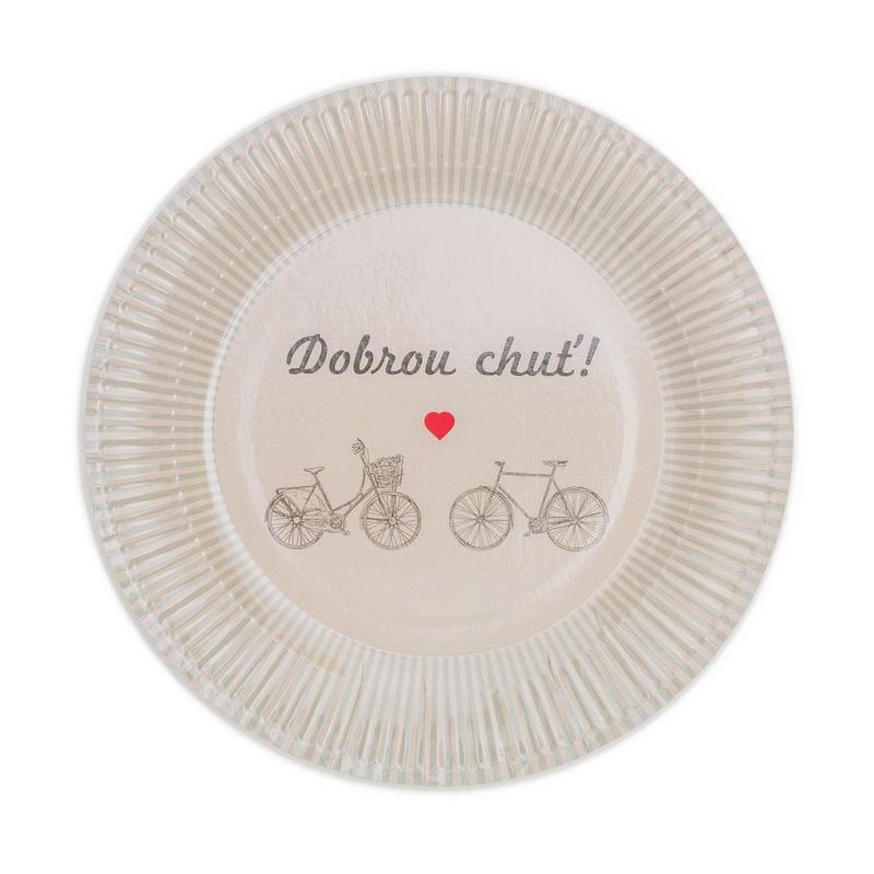 Papierové taniere (8 Ks) - 2063