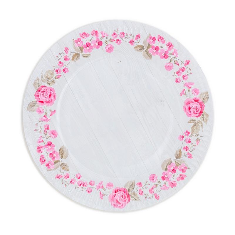 Papierové taniere (8ks) - 2090