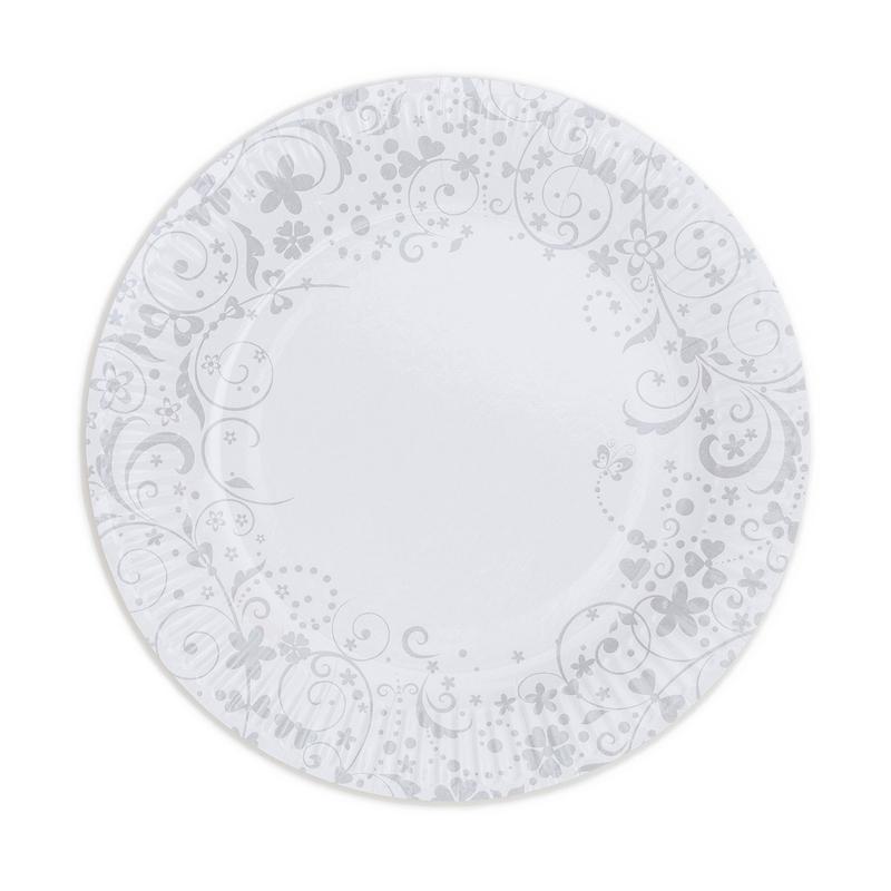 Papierové taniere ( 8ks) - 2092