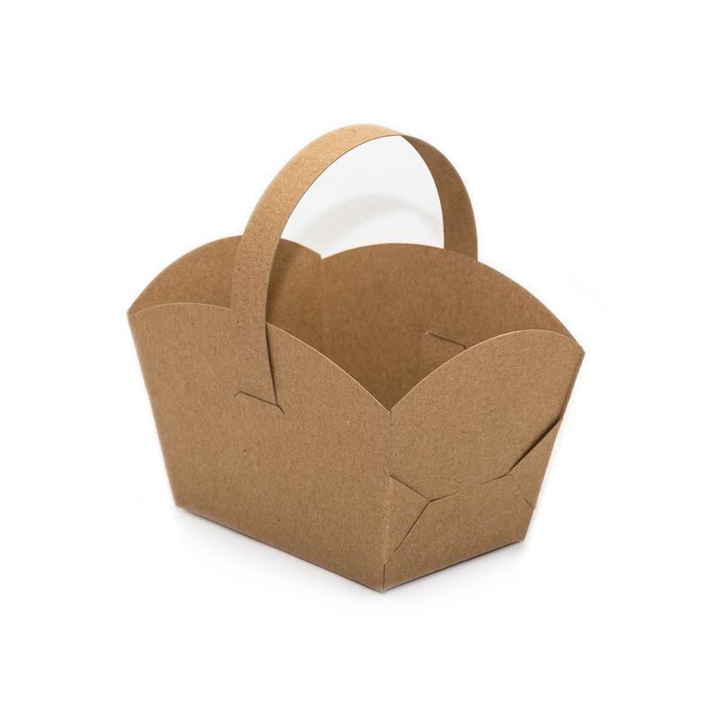 Košíček na cukrovinky v prírodnom štýle