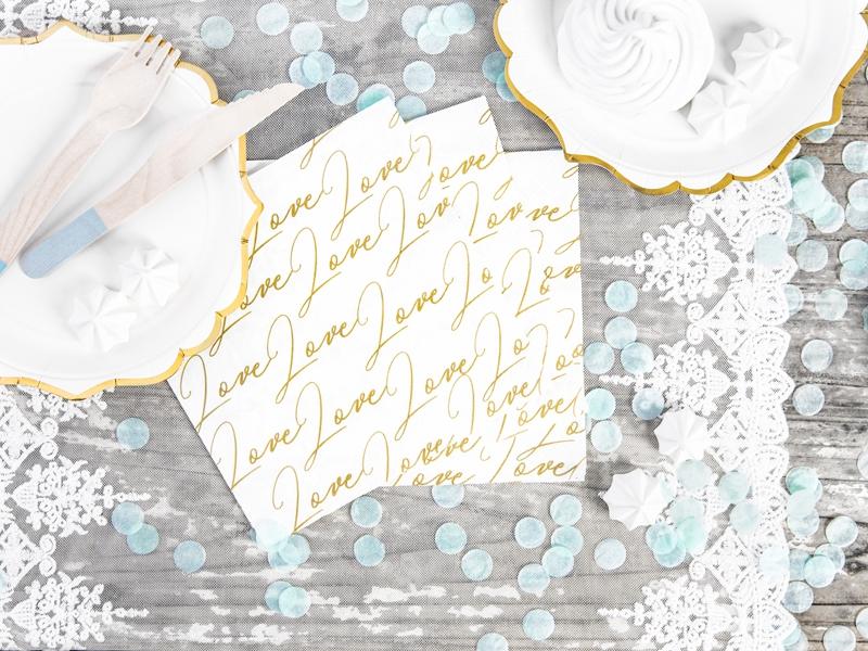 Papierové obrúsky s nápisy