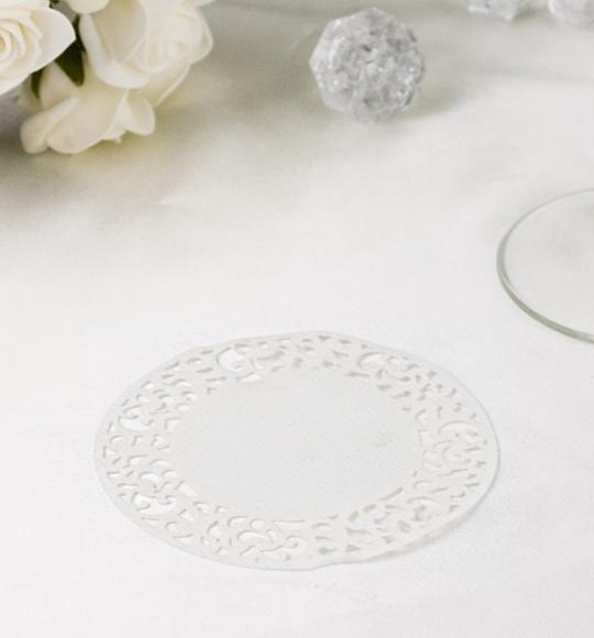 Rozety v bielej farbe - ROZ101