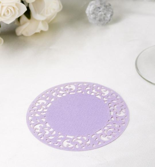 Rozety v lila farbe - ROZ110