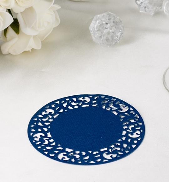 Rozety v kráľovsky modrej farbe- ROZ111